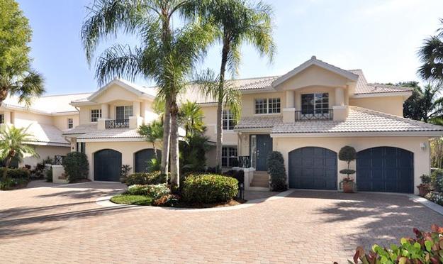 San Marino Real Estate Villas for Sale in Pelican Bay Naples, Florida