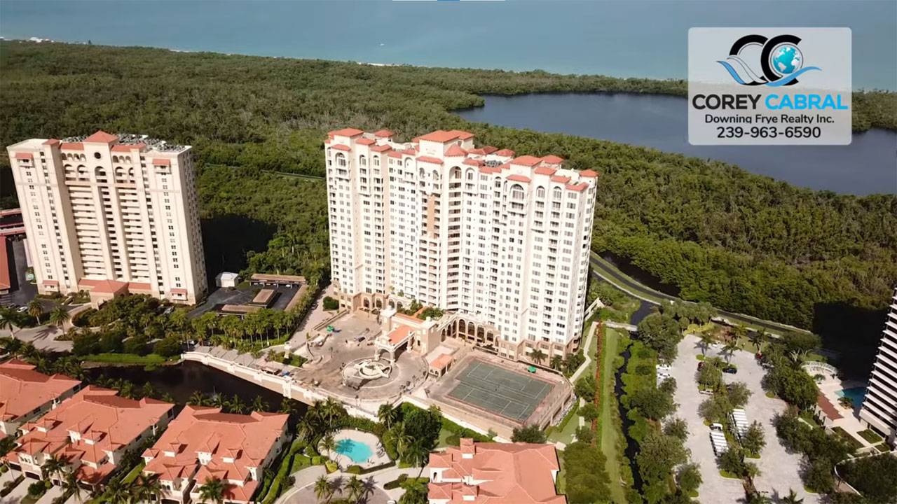 Cap Ferrat High Rise Condo Real Estate for Sale in Naples, Florida