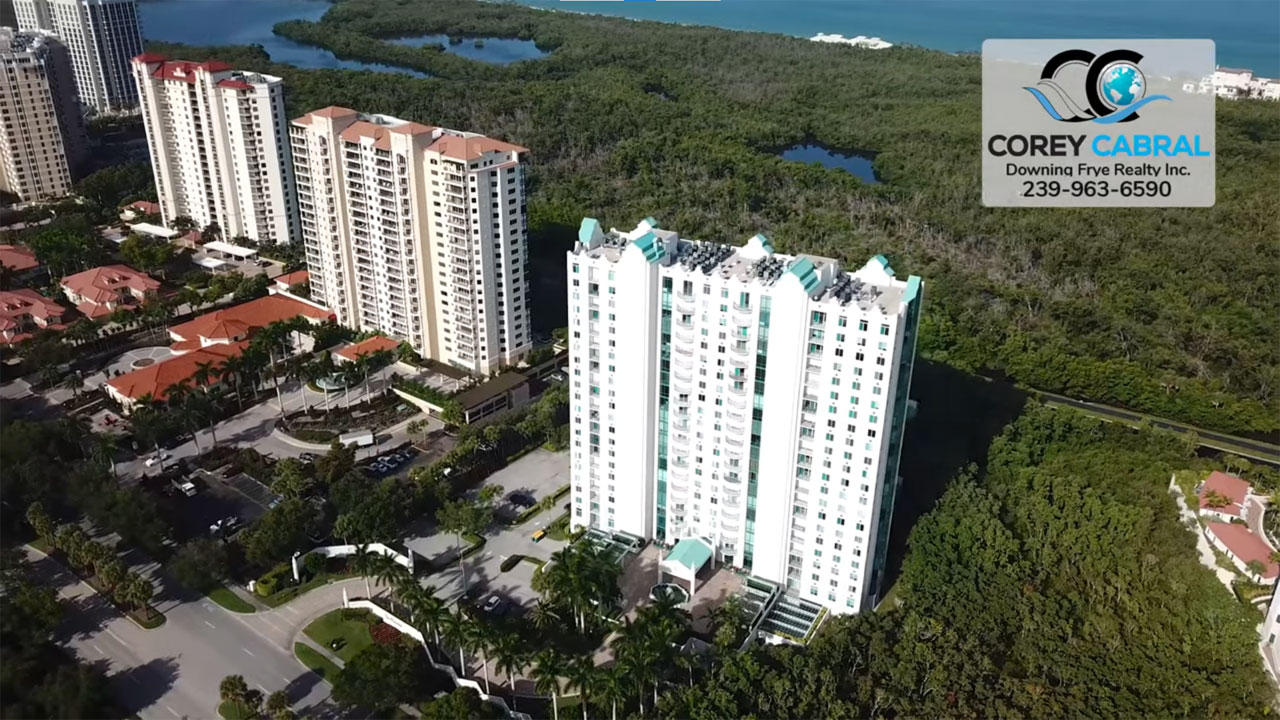 Claridge High Rise Condo Real Estate for Sale in Naples, Florida