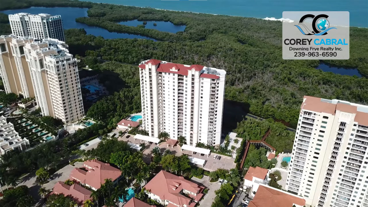 Coronado High Rise Condo Real Estate for Sale in Naples, Florida
