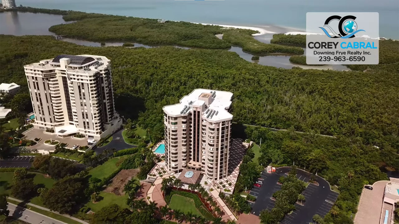 Dorchester High Rise Condo Real Estate for Sale in Naples, Florida