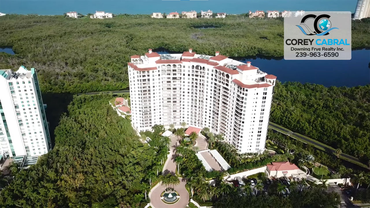 Montenero High Rise Condo Real Estate for Sale in Naples, Florida
