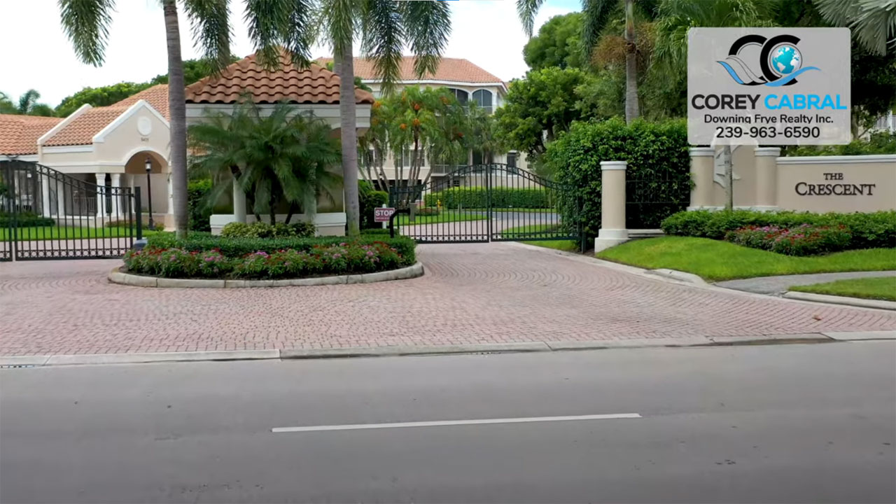 Crescent Real Estate Condos for Sale in Pelican Bay Naples, Florida