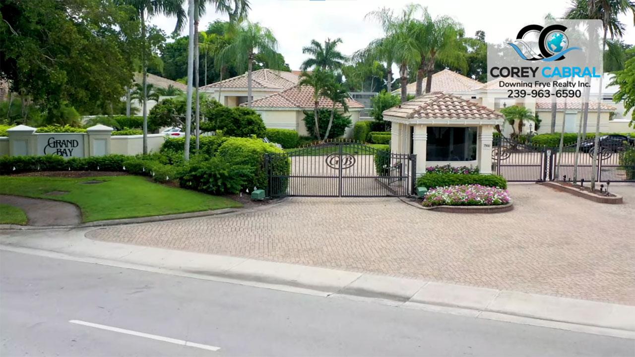 Grand Bay Real Estate Villas for Sale in Pelican Bay Naples, Florida