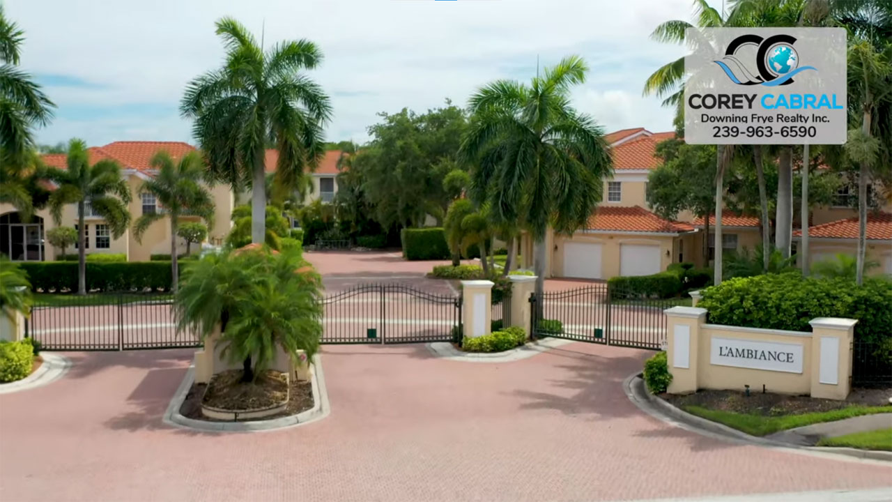 L'Ambiance Real Estate Condos for Sale in Pelican Bay Naples, Florida