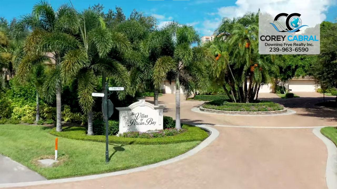 The Villas Real Estate Villas for Sale in Pelican Bay Naples, Florida