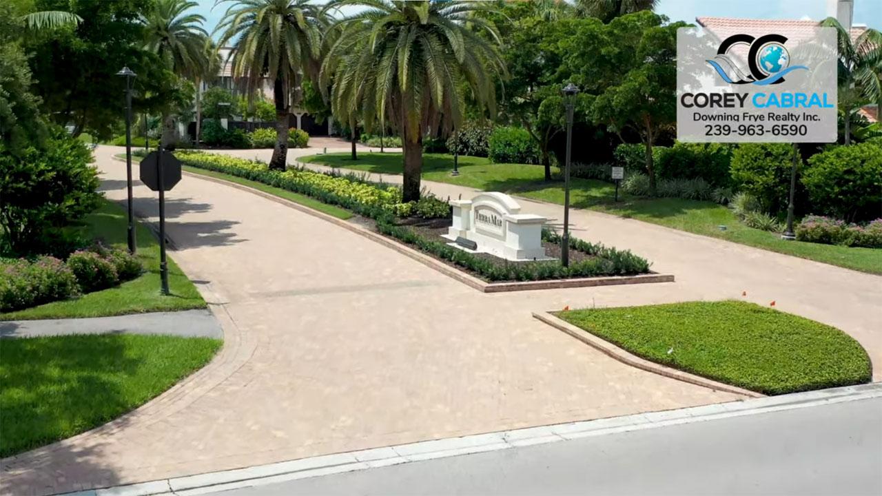 Tierra Mar Real Estate Villas for Sale in Pelican Bay Naples, Florida