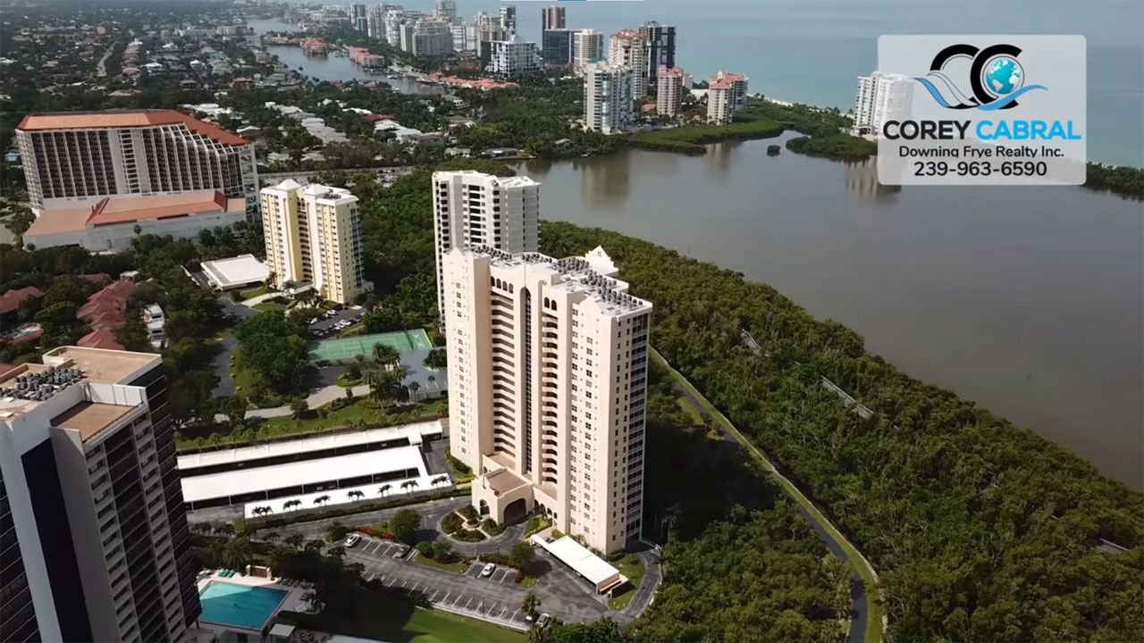 St. Nicole High Rise Condo Real Estate for Sale in Naples, Florida