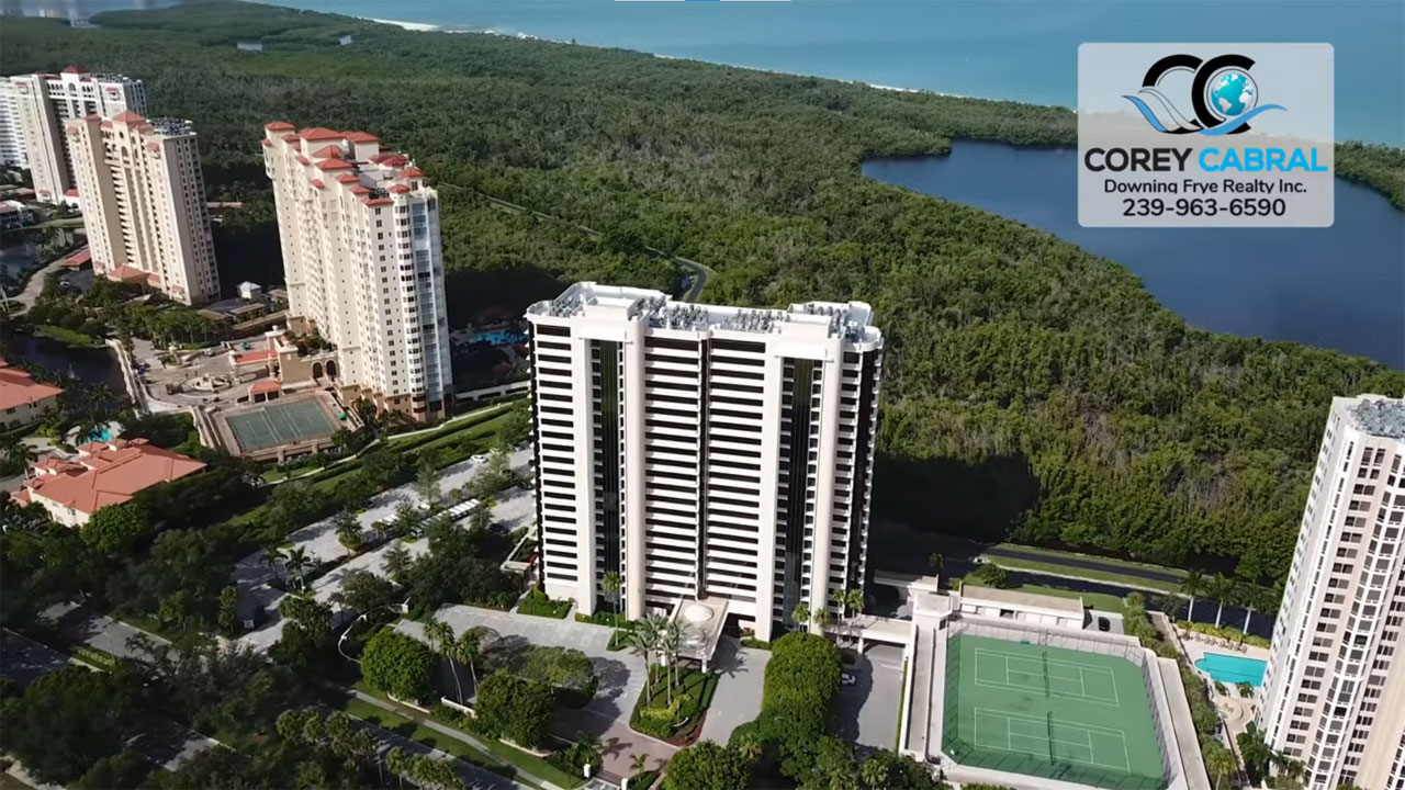 St. Pierre High Rise Condo Real Estate for Sale in Naples, Florida